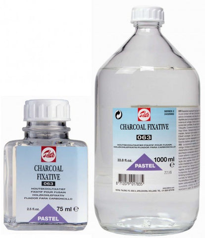 TALENS CHARCOAL FIXATIVE 063 75ml, 1000ml