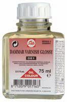 TALENS DAMMAR VARNISH GLOSSY 081 75ml, 250ml