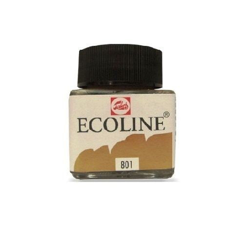 液體水彩 ECOLINE 1125A801  ECOLINE BOTTLE 30ML (GOLD COLOUR)