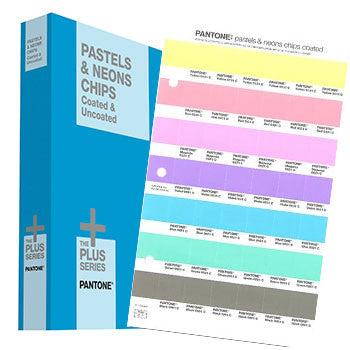 Pantone GB1504 Plus series PASTELS & NEONS CHIPS Coated & Uncoated