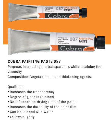 24061087 COBRA PAINTING PASTE 087   (60ml)