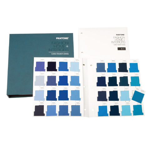 PANTONE FHIC110 FASHION AND HOME , 210 NEW COLOR, COTTON SWATCH LIBRARY