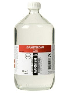 Amsterdam varnish- glossy (for acrylic) 114 75ml, 250ml, 1000ml