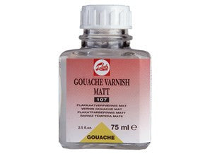 TALENS GOUACHE VARNISH MATT 107 75ml, 250ml