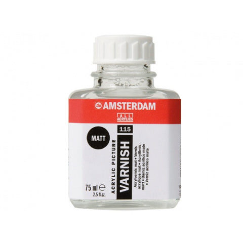 Amsterdam varnish- mat (for acrylic) 115 75ml, 250ml, 1000ml