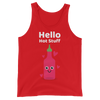 Cute Romance Hello Hot Stuff Tank