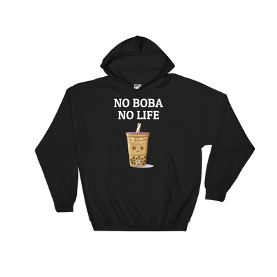 Featured Foods No Boba No Life Hoodie