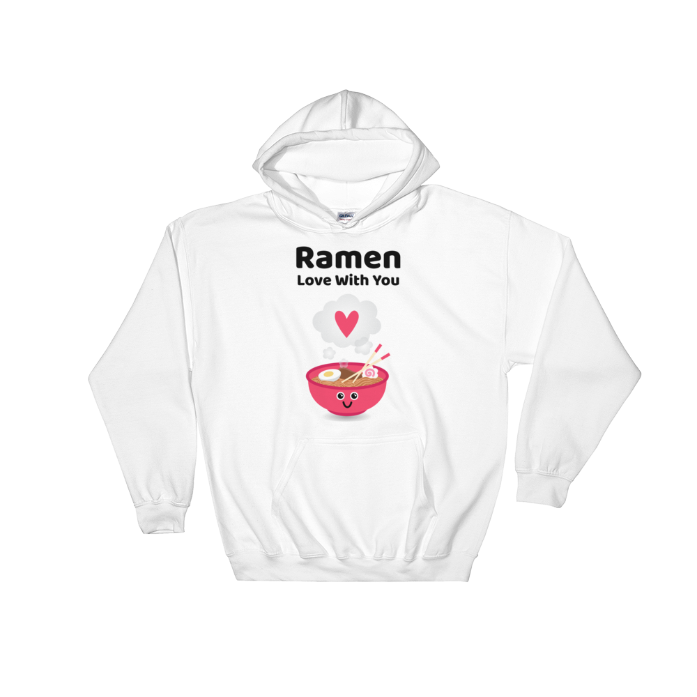 Cute Romance Ramen Love With You Hoodie