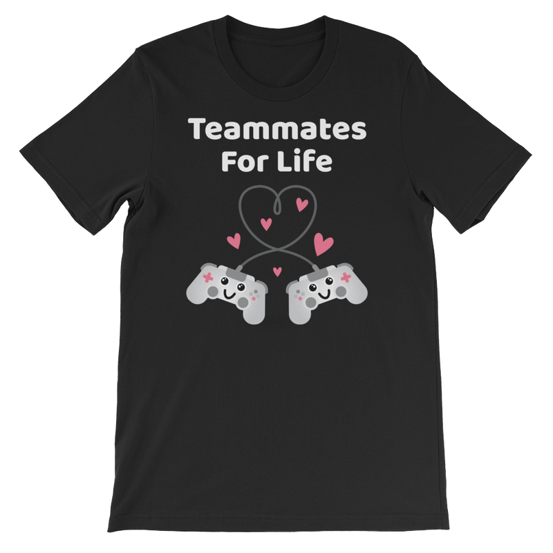 Cute Romance Teammates For Life T-Shirt