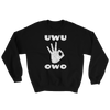UWU OWO Circle Game Sweatshirt