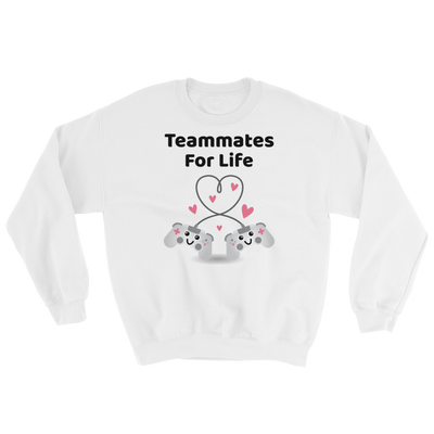 Cute Romance Teammates For Life Sweatshirt