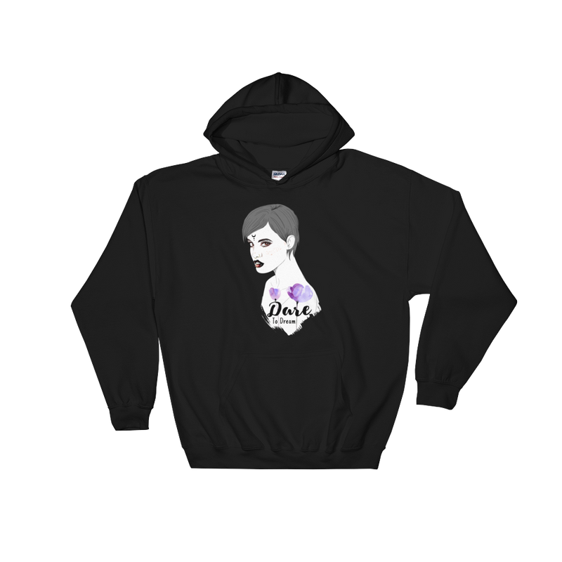 Dare To Dream Crescent Hoodie