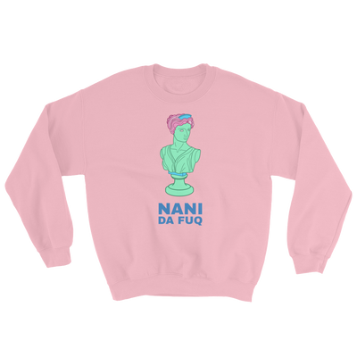 Retro Japan Nani Da Fuq Sweatshirt