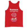 Cute Romance Ramen Love With You Tank