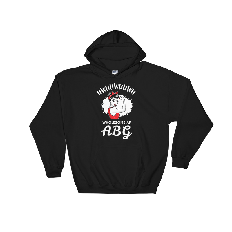 Wholesome AF ABG Strength Hoodie