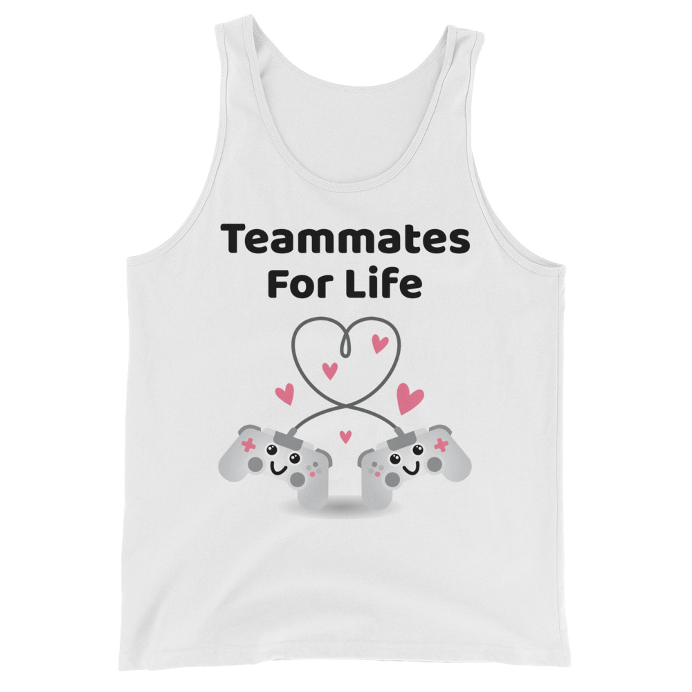 Cute Romance Teammates For Life Tank