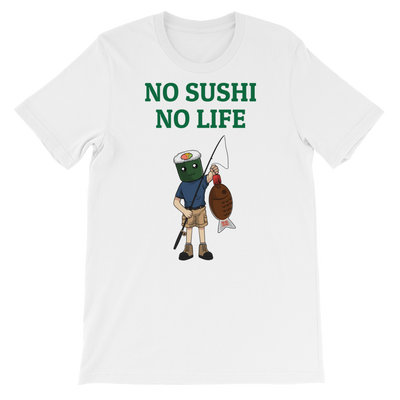 Featured Foods No Sushi No Life T-Shirt