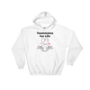 Cute Romance Teammates For Life Hoodie