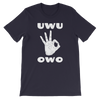 UWU OWO Circle Game T-Shirt
