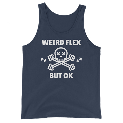 Weird Flex But OK Deadlift Tank