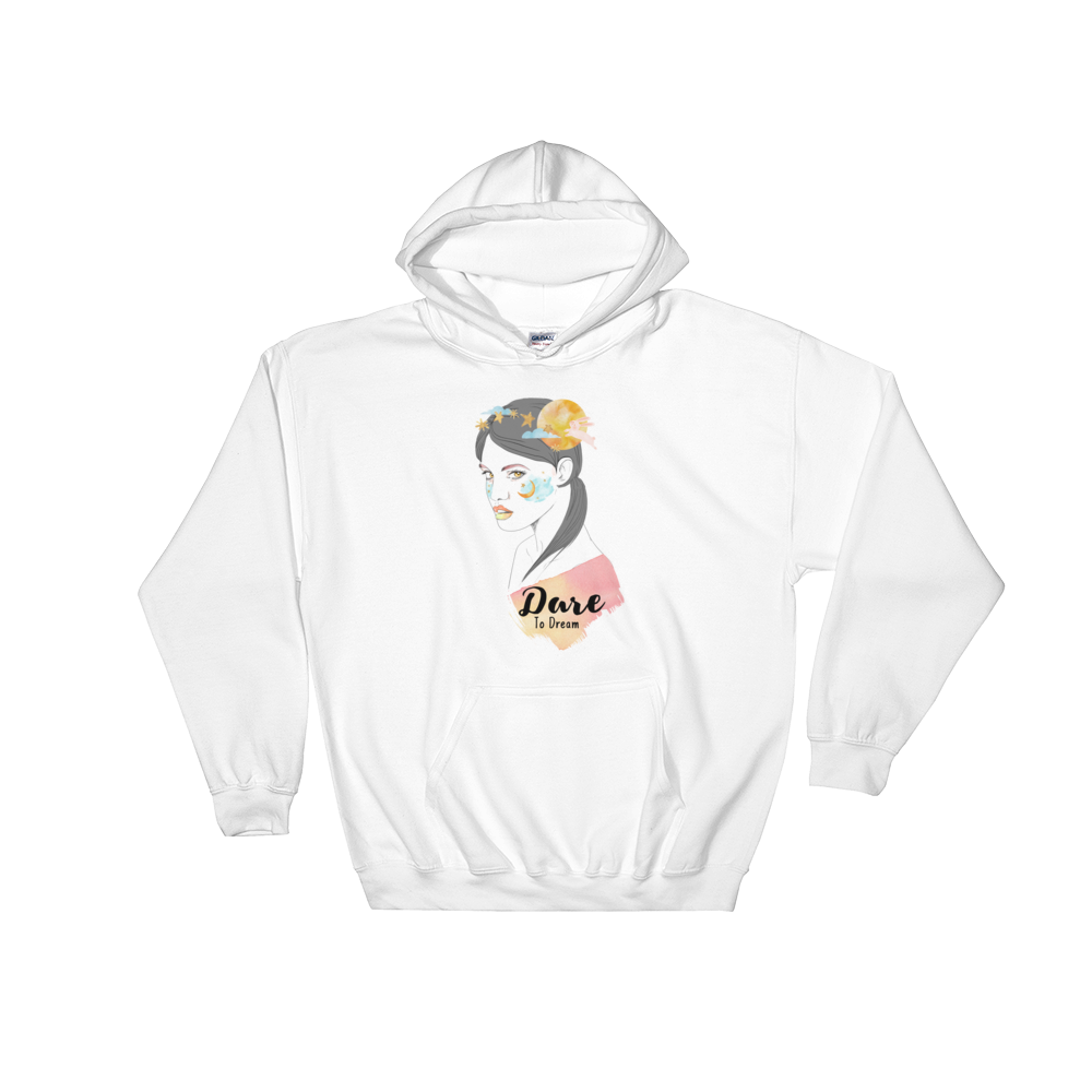 Dare To Dream To The Moon Hoodie