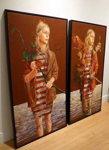Acrylic And Oil On Canvas - Fintan Magee