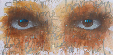 Acrylic On Canvas - My Dog Sighs
