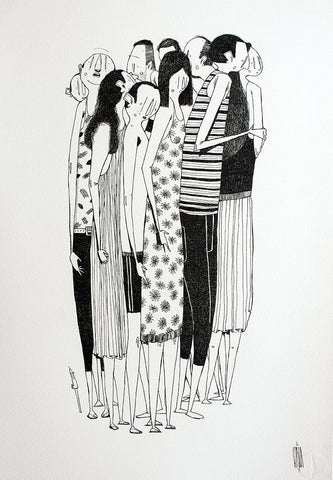 Acrylic On Paper - Alex Senna