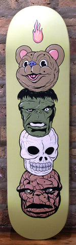 Acrylic On Skateboard Deck - Steve Seeley