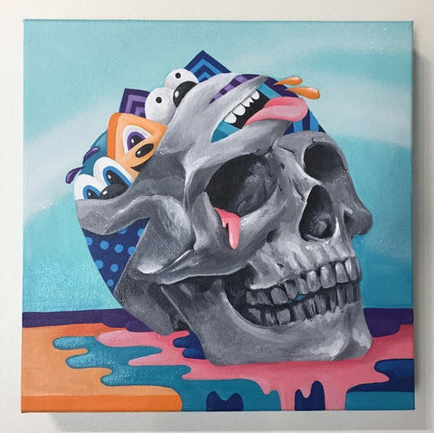 Acrylic On Wood - Greg Mike