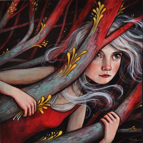 Acrylic On Wood - Kelly Vivanco