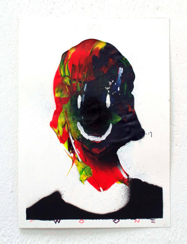Acrylic, Spray Paint And Color Pencil - TWOONE
