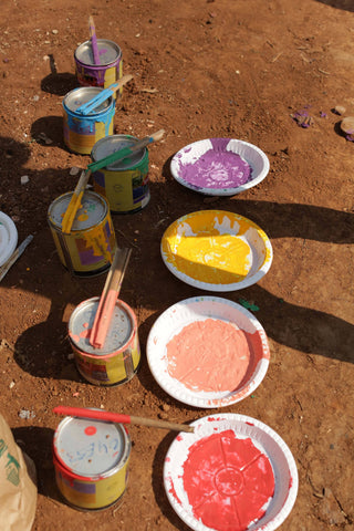 Donation - City Of Big Dreams - Paint Buckets