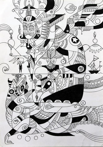 Ink On Paper - Fernando Chamarelli