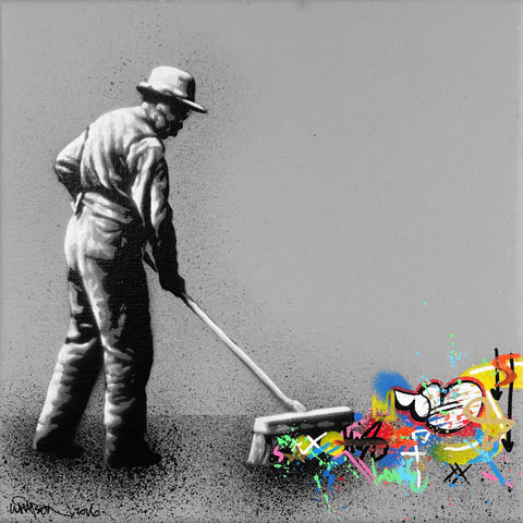 "Mixed Media - Martin Whatson ""Sweeper"""