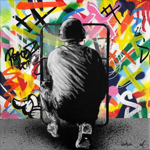 "Mixed Media - Martin Whatson ""Zero Tolerance"