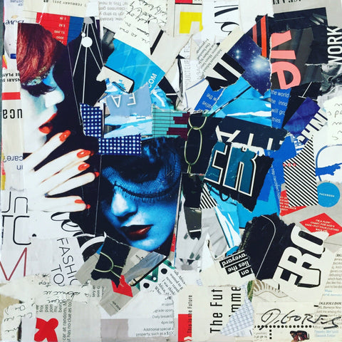 Mixed Media On Canvas - Derek Gores