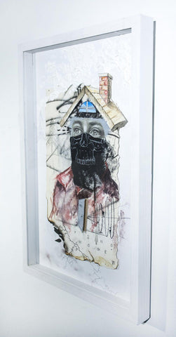 "Mixed Media On Paper - Joseph Renda Jr ""Find Home"""