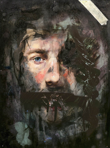Mixed Media On Wood - Joseph Renda Jr