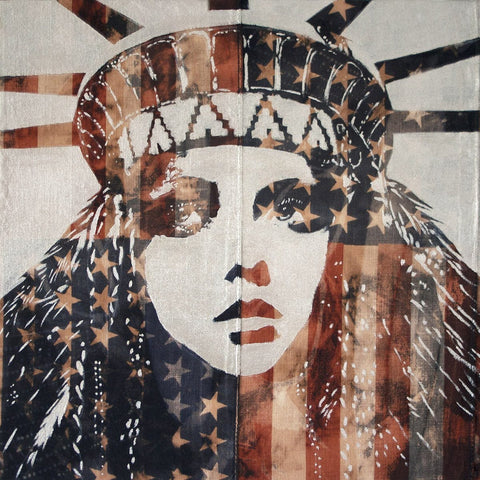 "Mixed Media - Pam Glew ""Liberty (Follow The Sun)"""