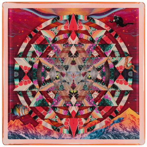 "Mixed Media - Sebastian Wahl ""Martian Marble Yantra"""