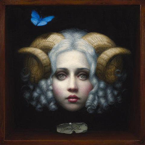 Oil On Wood - Chie Yoshii