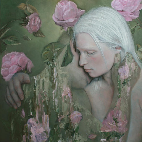 "Oil On Wood - Meredith Marsone ""Fragment"""