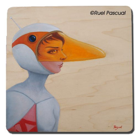Oil On Wood - Ruel Pascual