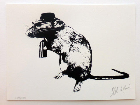 Screen Print - Blek Le Rat