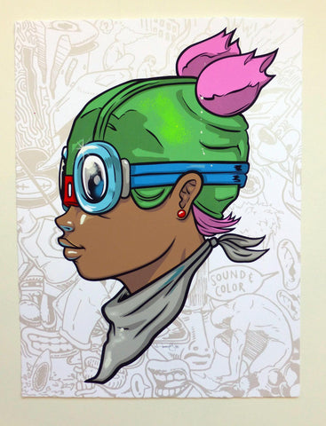 Screen Print - Hebru Brantley