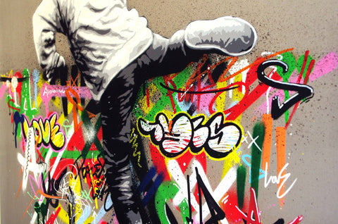 Spray Paint And Acrylic On Aluminum - Martin Whatson