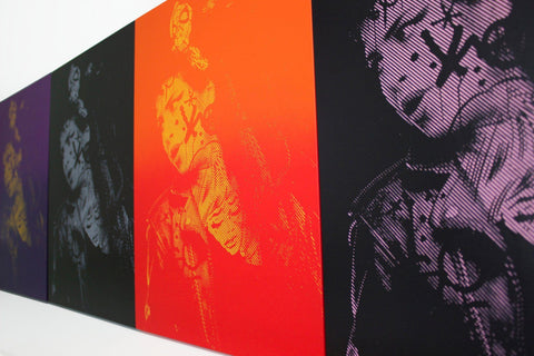 Spray Paint On Wood Panel - Chris Cunningham