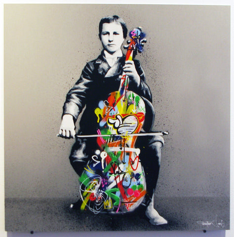 Sray Paint And Acrylic On Aluminum - Martin Whatson