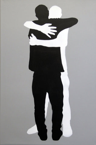 Stencil On Canvas - Icy & Sot